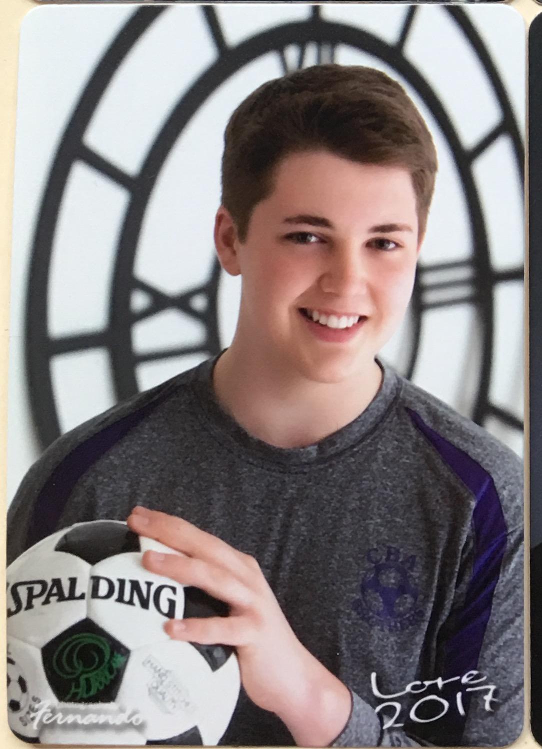 boy with soccer ball - syracuse, ny